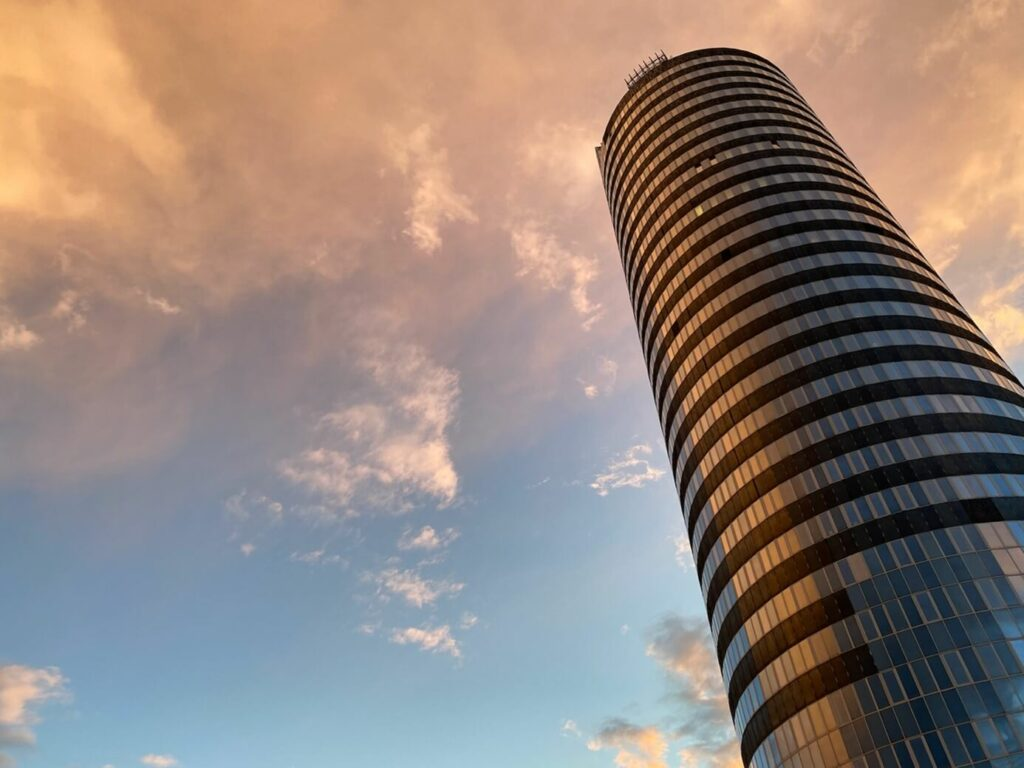 Aussenansicht Turm